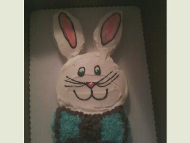 Easter 2011 Baby Boy Bunny